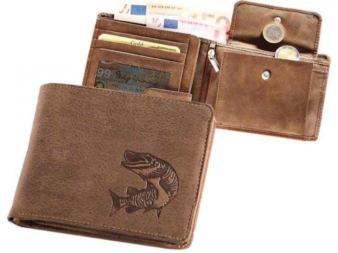 """rybářská peněženka 40 """"štika"""""""