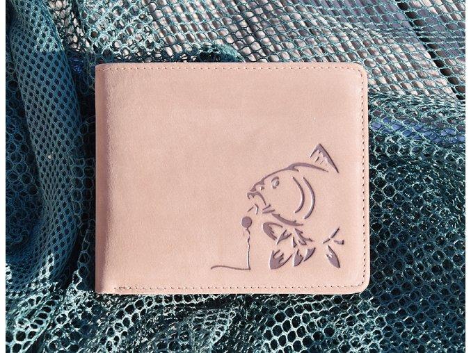 """rybářská peněženka 40 """"kapr a boilies"""""""