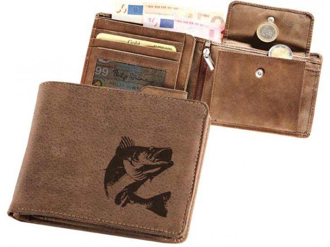 """rybářská peněženka 40 """"candát 02"""""""
