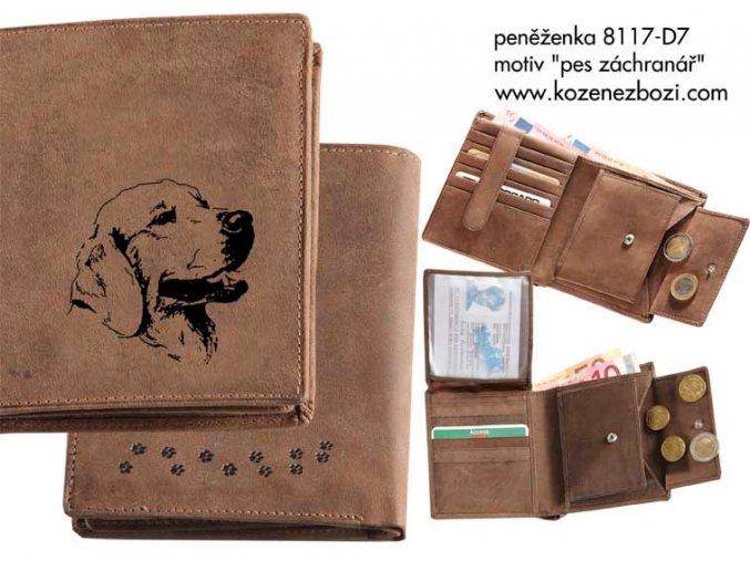 """peněženka 17 """"pes záchranář"""""""