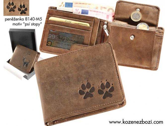 """peněženka 40 """"psí stopy"""""""