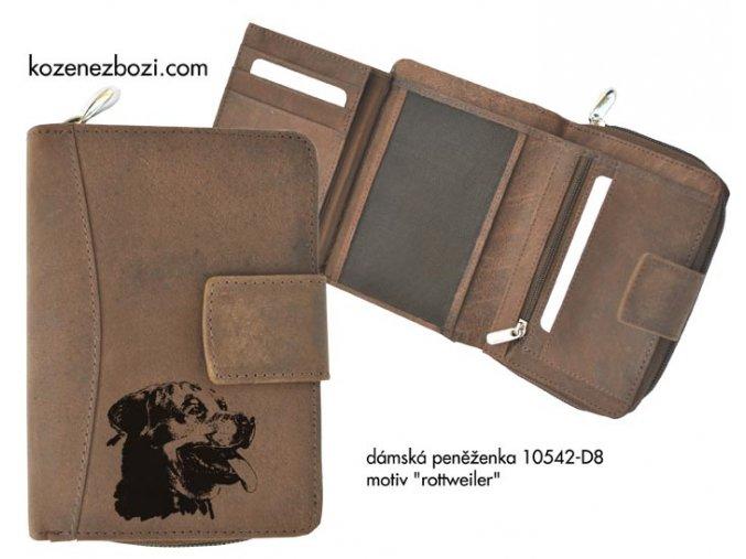 """dámská peněženka 542 """"rottweiler"""""""