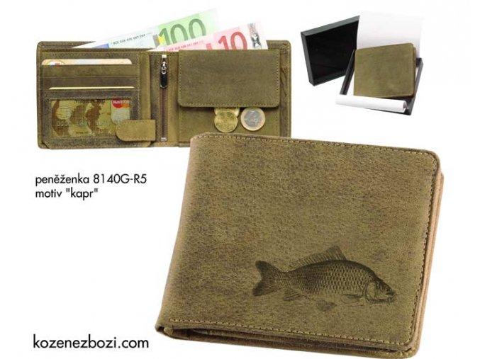 """rybářská peněženka 40 """"kapr"""""""