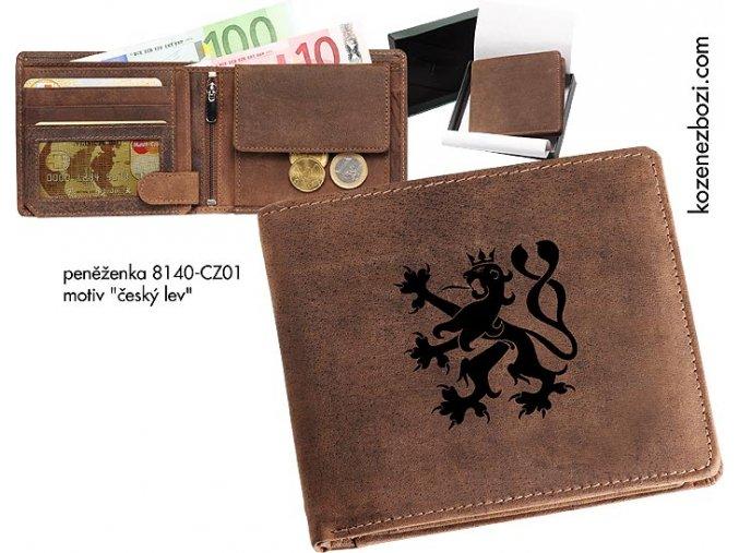 """peněženka 40 """"český lev"""""""