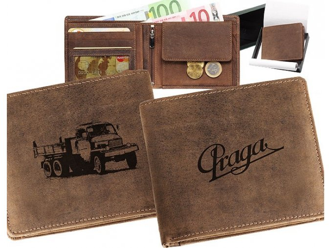 """peněženka 40 """"Praga V3S"""""""