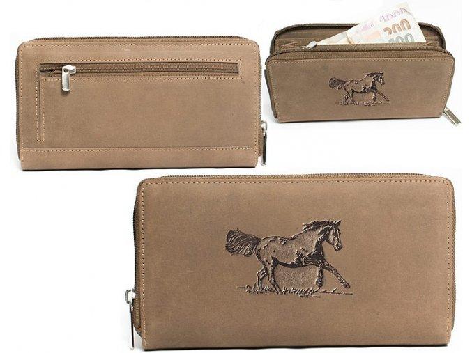 """dámská peněženka 8180 """"kůň 02"""""""