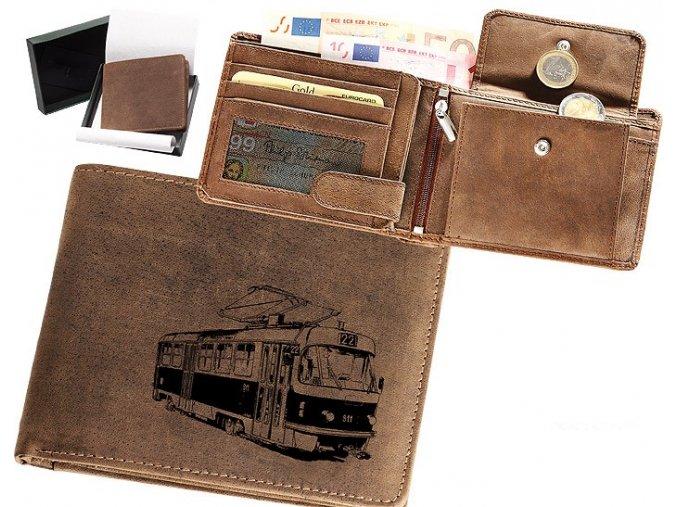 """peněženka 40 """"tramvaj T3"""""""
