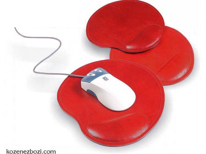 podložka pod myš LISABON červená