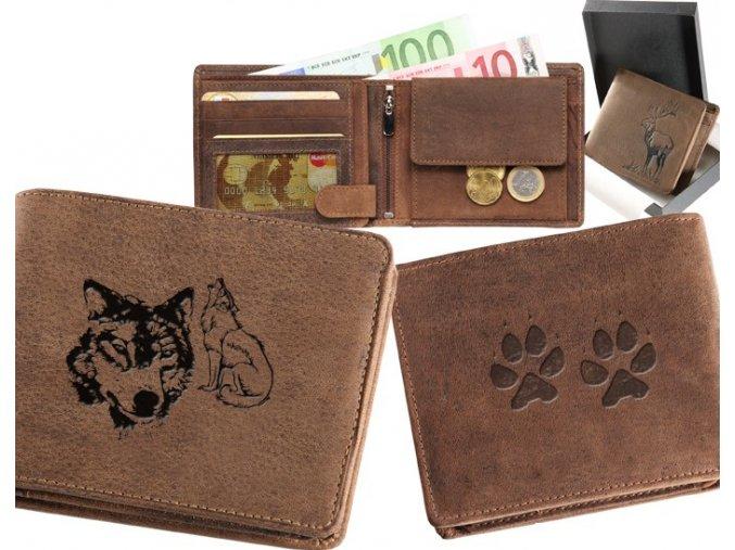 """myslivecká peněženka 40 """"vlk"""""""