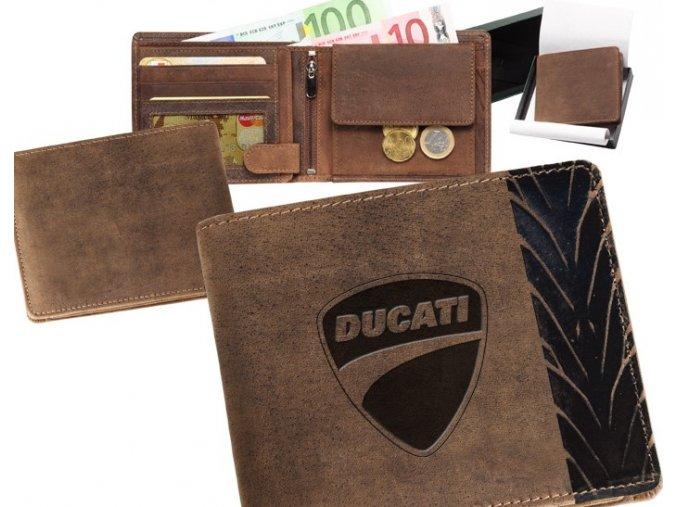 """motorkářská peněženka 40 """"DUCATI"""""""