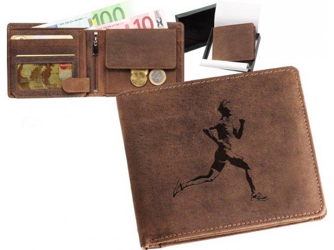 """peněženka 40 """"běžec"""""""