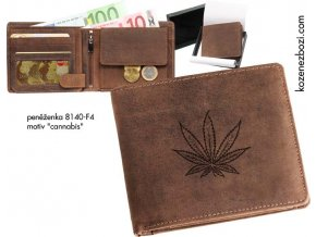 "peněženka 40 ""cannabis"""