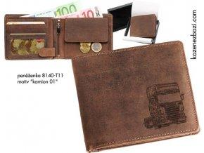 """peněženka 40 """"kamion 01"""""""
