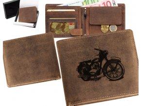 """motorkářská peněženka 40 """"jawa pérák"""""""