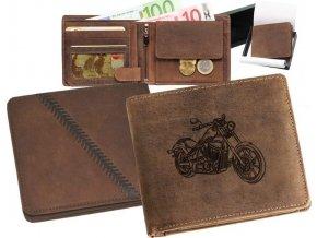 """motorkářská peněženka 40 """"chopper 03"""""""