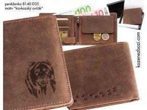 """peněženka 40 """"kavkazský ovčák"""""""