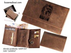 """dámská peněženka 009 """"yorkshire"""""""