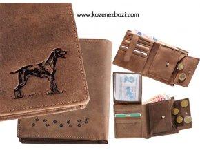 """peněženka 17 """"lovecký pes"""""""
