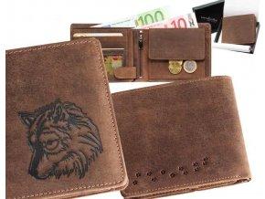 """peněženka 40 """"pes sibiřský"""""""