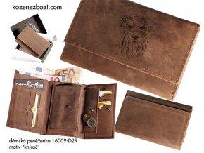 """dámská peněženka 009 """"knírač"""""""
