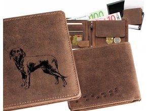 """peněženka 40 """"lovecký pes 2"""""""