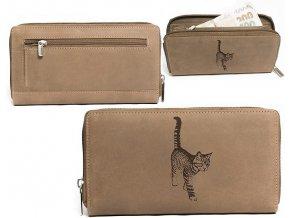 """dámská peněženka 8180 """"kočka 02"""""""
