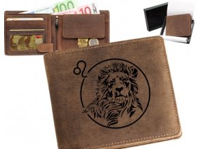 """peněženka 40 zvěrokruh """"lev"""""""