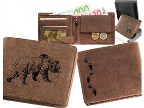"""myslivecká peněženka 40 """"medvěd"""""""