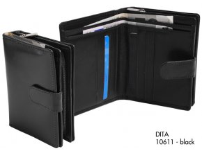 dámská peněženka DITA (černá)