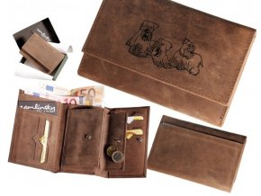 """dámská peněženka 009 """"český teriér"""""""