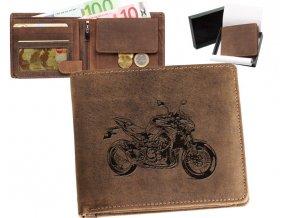 """motorkářská peněženka 40 """"Kawasaki Z 900"""""""
