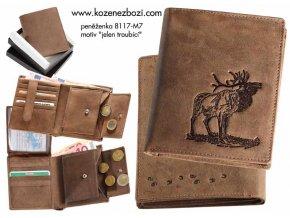 """myslivecká peněženka 17 """"jelen troubící"""""""