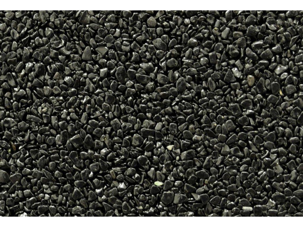 Kamenný koberec Nero Ebano - PU