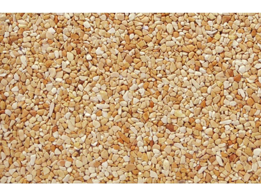 Kamenný koberec Rosso Coralo - POLYASPARTÁT