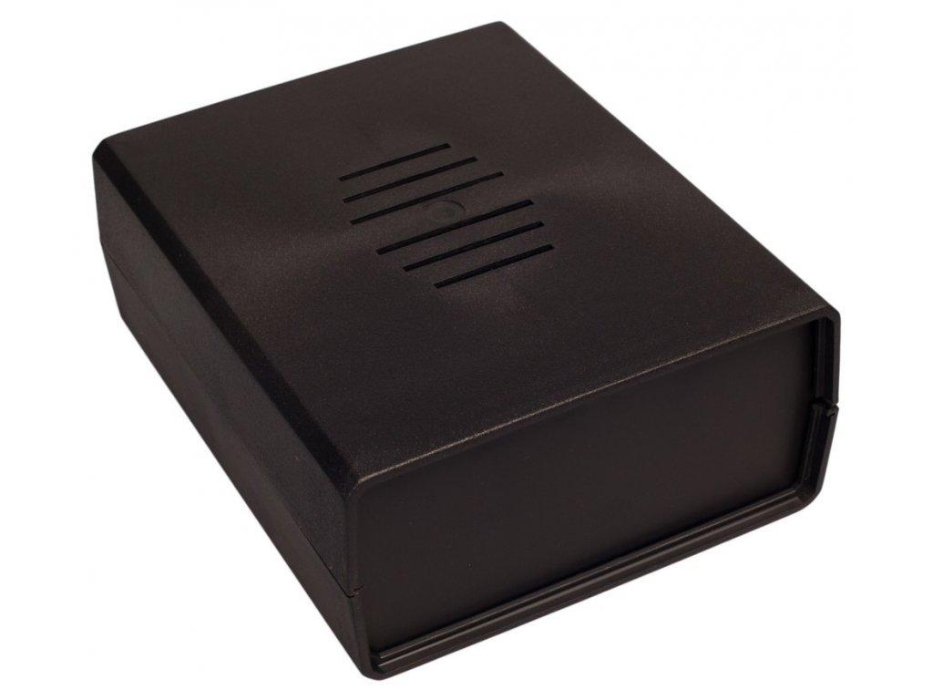 Plastová krabička Z2W, černá