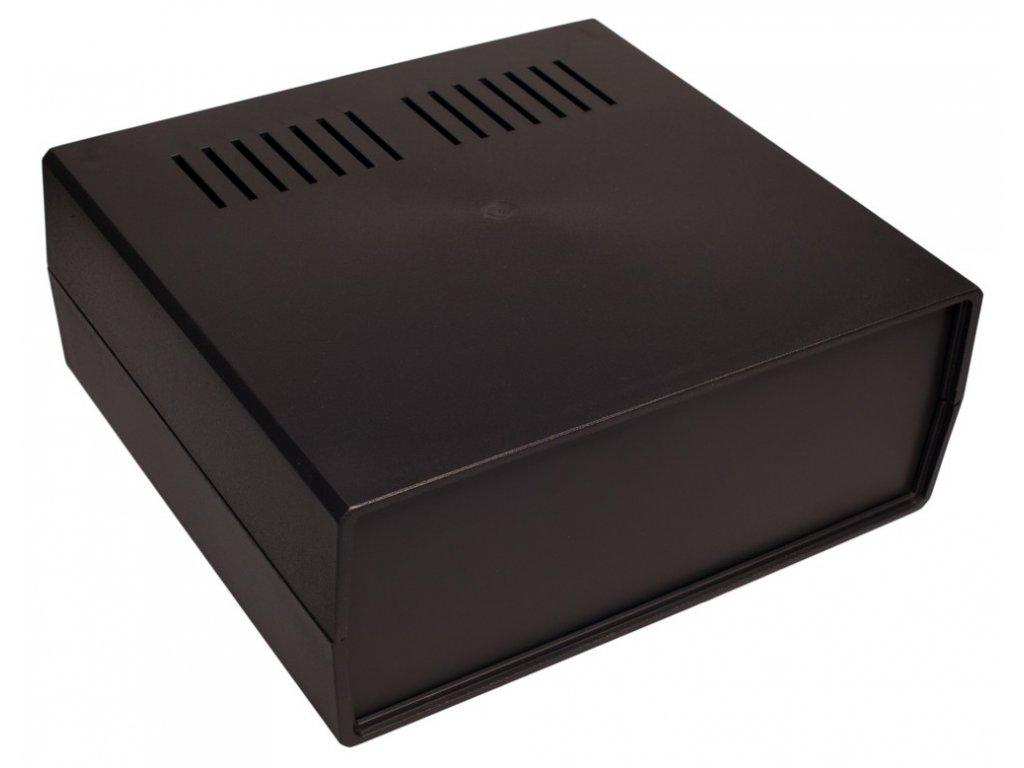 Plastová krabička Z17W, černá