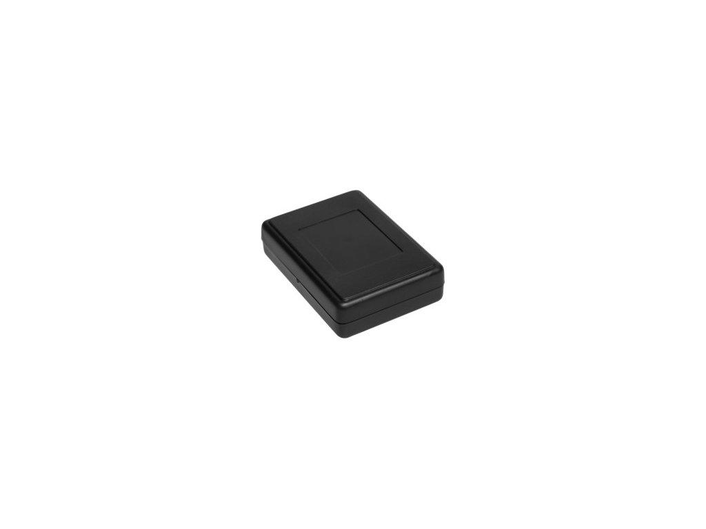 Plastová krabička Z23A, černá