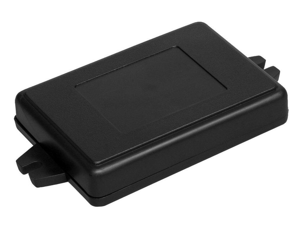 Plastová krabička Z23AU, černá