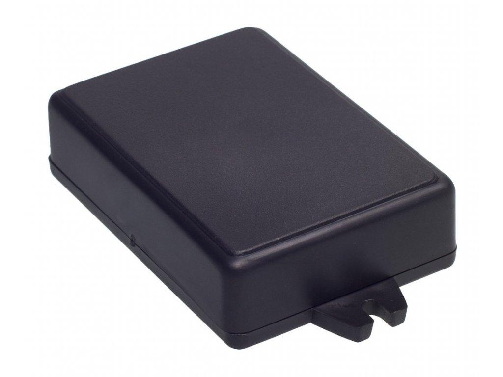 Plastová krabička Z23U, černá