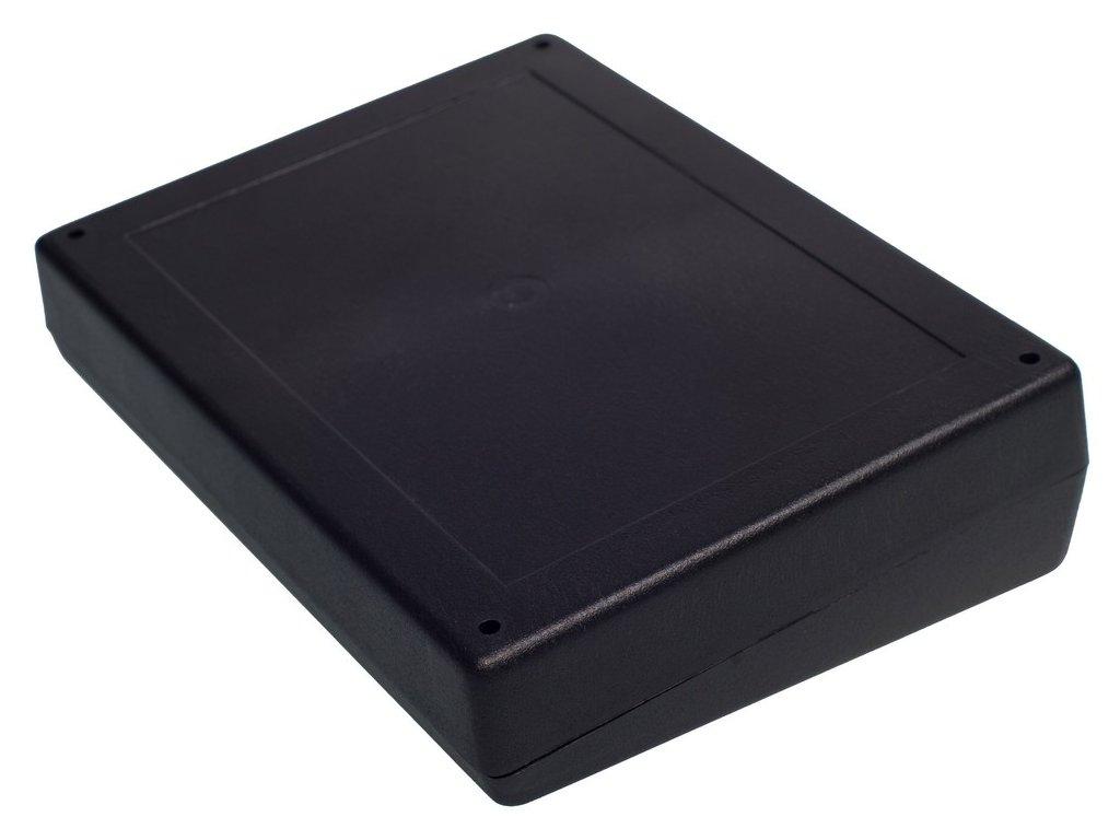Plastová krabička Z33A, černá