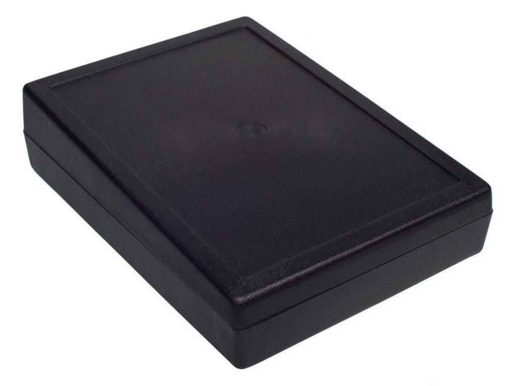 Plastová krabička Z33B, černá