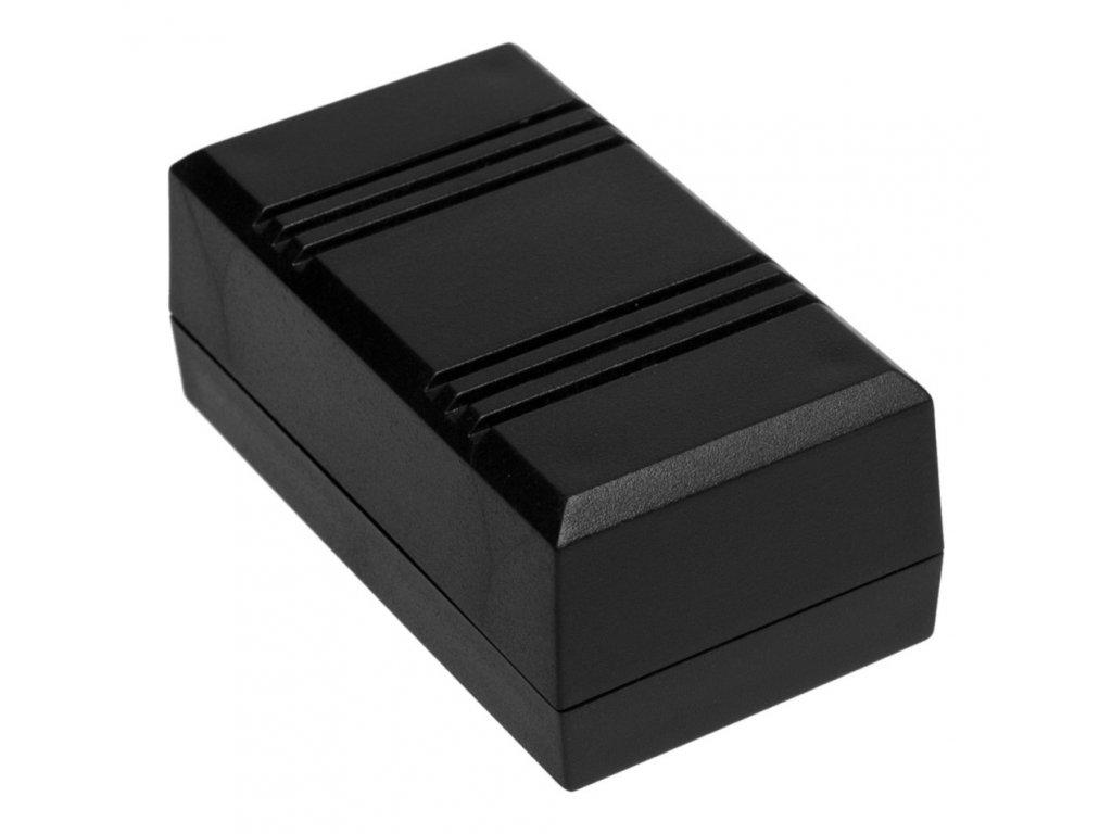 Plastová krabička Z45, černá
