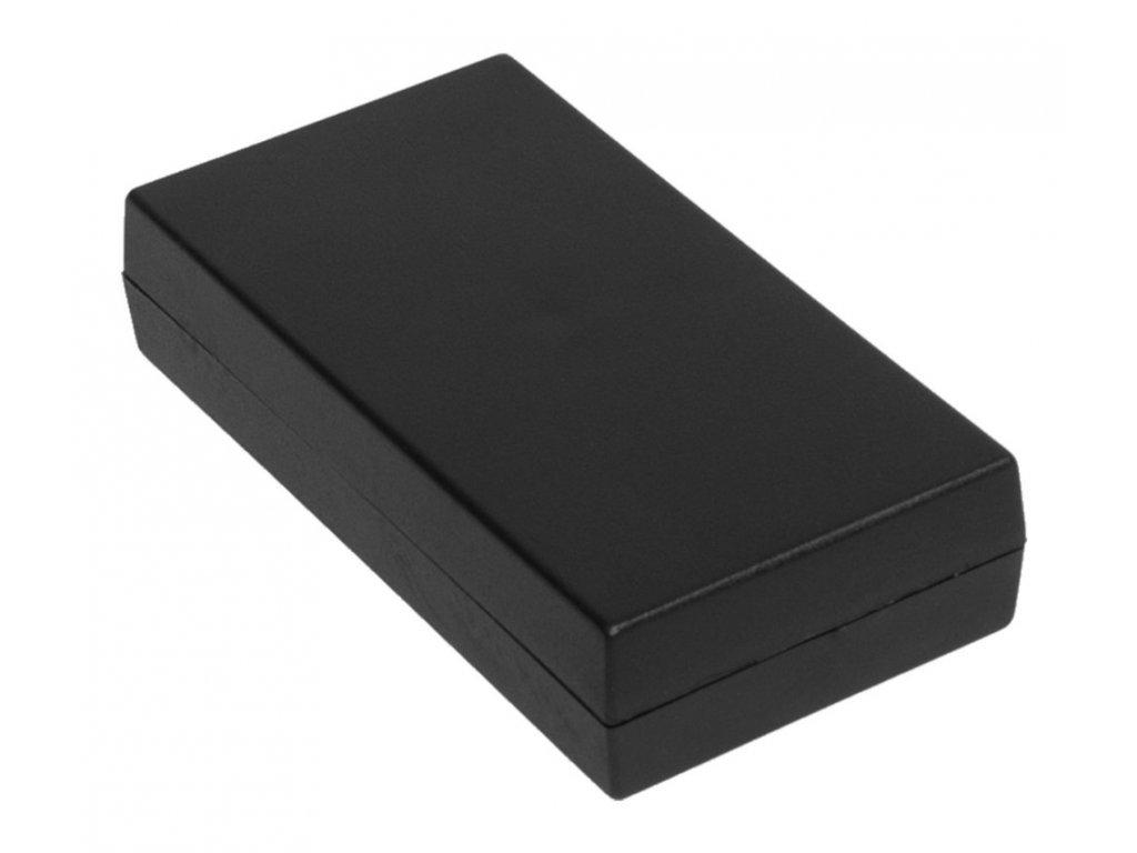 Plastová krabička Z7B, černá