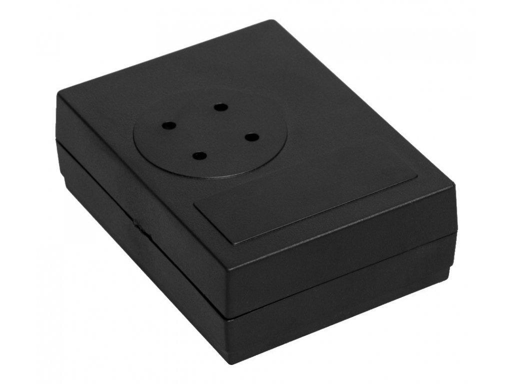 Plastová krabička Z22, černá
