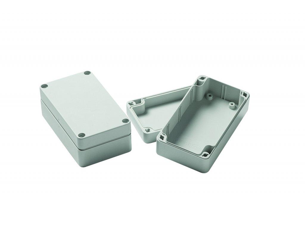 Plastová krabička BK203, šedá