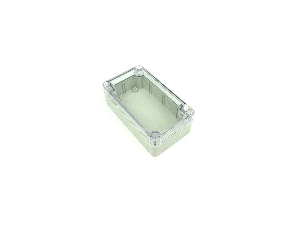 Plastová krabička BK203, průhledné víko