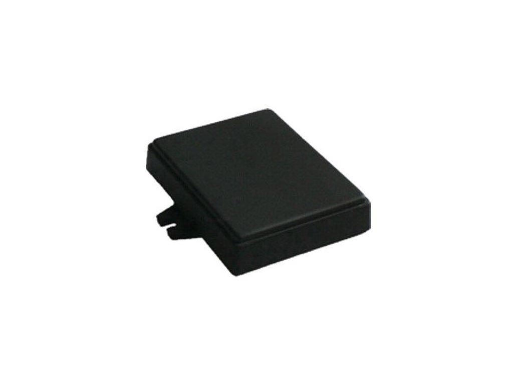 Plastová krabička Z71U, černá