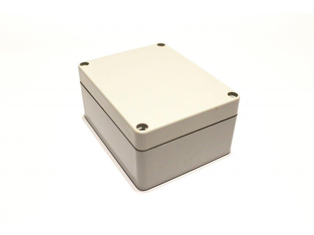 Plastová krabička BK212, šedá