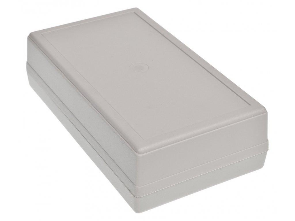 Plastová krabička Z72J, šedá