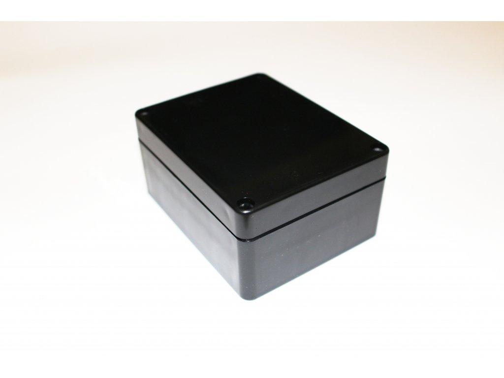 Plastová krabička BK212, černá